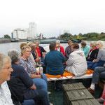 """""""Hafenrundfahrt"""" im Börteboot"""