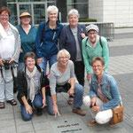 """Kleine Gruppe von uns auf dem """"Walk of Fame"""""""