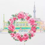 高島屋輪バラ企画 スカイツリーノ見エル駅