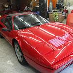 フェラーリ  328GTS  ボディコーティング(無機ガラス&フッ素ダブルコーティング)  参考価格 80,000円~