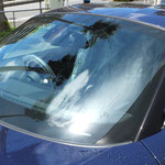 BMW Z4  フロントガラス スクラッチリペア(ワイパー傷)  お見積り