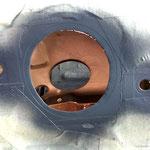 Grundierung und Unterbodenschutz kommen natürlich auch von Innen reichlich in den Kotflügel.