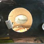 Hier kommen nun Gummipuffer und Profildichtung zum Einsatz, welche den schwimmenden Einbau ermöglichen.