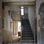 Abbrucharbeiten Treppenhaus
