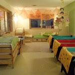 Kindergarten Waal - Schlafraum Kinderkrippe