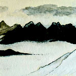 """""""mountains over the clouds"""" 