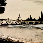 """""""dresden silhouette"""" 