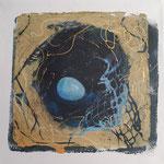 Farbe Türkis Nest
