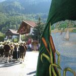 unsere Fahne in Umhausen