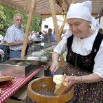2012 Buttern beim Hohlgassfest