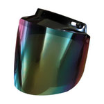 Flip up Visor Rainbow