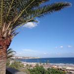 Gran Canaria - Blick auf den Strand von Playa del Ingles