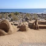 Gran Canaria - Sandskulpturen