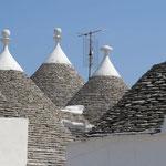 Trulli-Dächer