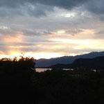 Endlich wieder Sonnenuntergang am Lago di Garda