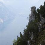 Und tief unter mir »Il Lago di Garda«