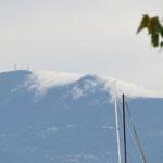 Wolkenwasserfall am Monte Baldo