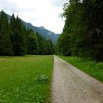 Geradliniger Weg