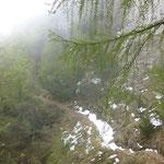 Winter im Sentiero del Ventrar