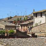 Die Dächer von San Gimignano