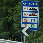 Ankunft in Bella Italia