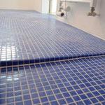 Übergang begehbare Dusche/ Boden