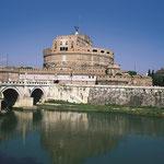 Tiber und Engelsburg in Rom