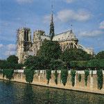 Seine mit Notre Dame in Paris