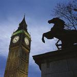 Big Ben bei Nacht in London
