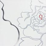 """Natureza Feminina XVII"" Acrílico s/ tela  30 x 30 cm - 2017"