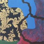 """""""Crescimento""""- Acrílico s/ tela- 150 x 60 cm- 2014"""