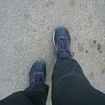 Füße beim walken