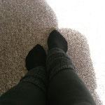 stehende Füße