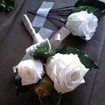 薔薇と林檎 ブートニア