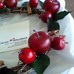 赤いリンゴ イミテーション