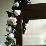白い薔薇のレイ