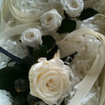 白薔薇 小物