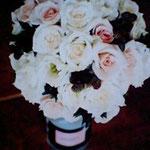 薔薇とベリーのブーケ