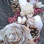 海の貝殻リース ドライ