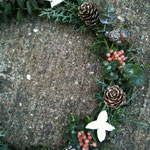 クリスマスリースホワイト フレッシュ