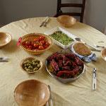 Turcinieddhri crudusti-Pane con poco muco di Arnold Ehret e bistecca di Melanzane