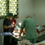 """eine der ersten """"kleineren"""" Operationen"""