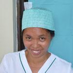 """Joyce, unsere philippinische Krankenschwester von """"Ärzte für die 3.Welt"""", bereits seit 2012 im Team"""