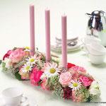 Tischgesteck Kerzen