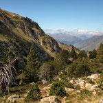 Auf dem Weg zu den Lacs de Rosari de Bacivier