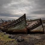 Alte Boote, Salen, Isle of Mull