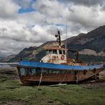 Altes Boot, Shiel Bridge, Loch Duich