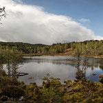 Loch Croig nahe den Dogfalls im Glen Affric