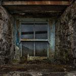 Aufgegebenes Crofthouse, Golden Road, Isle of Harris