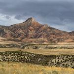 Bardenas Reales; Blick zum Cabezo del Fraille